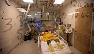 Advarsler «Pasientbølge»: Spådommer antyder at antall intensivpasienter kan overvelde sykehus. Foto: NTP / Francine R / Los Angeles Times / Shutterstock