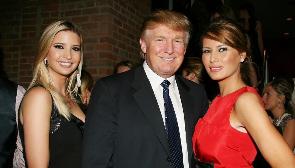 KJØLIG: Melania Trumps tidligere venninne mener forholdet til førstedamen og Trumps datter Ivanka er iskaldt. Foto: NTB