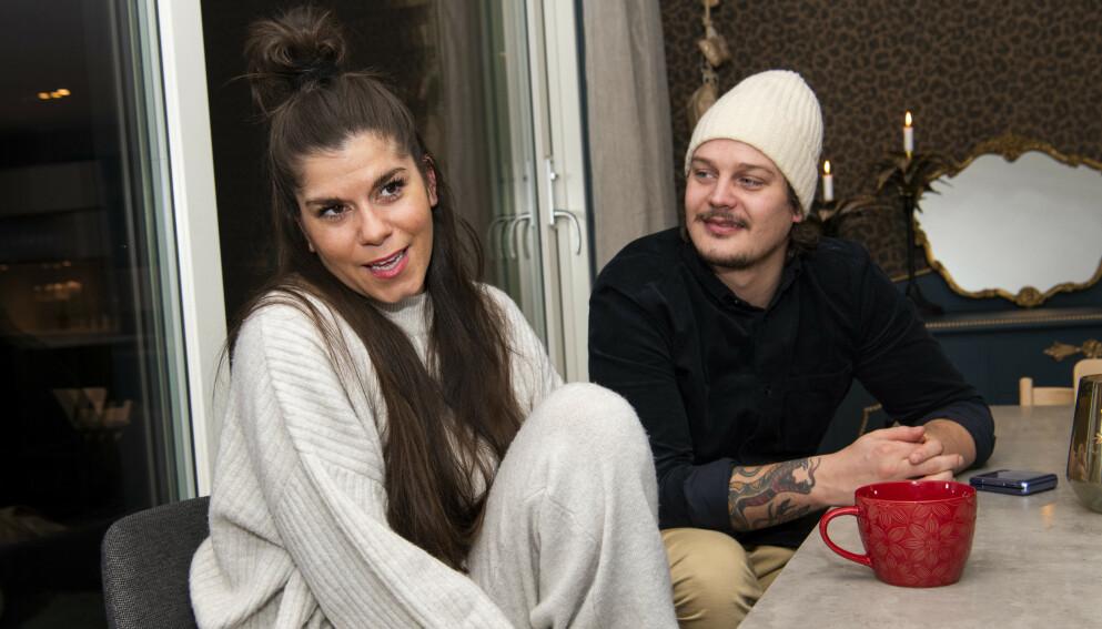 MED PÅ LAGET: Kristin Gjelsvik og mannen Dennis Poppe Thorsen er begge representerte av management-byrået Max Social, som eies av VGTV. Foto: Lars Eivind Bones / Dagbladet