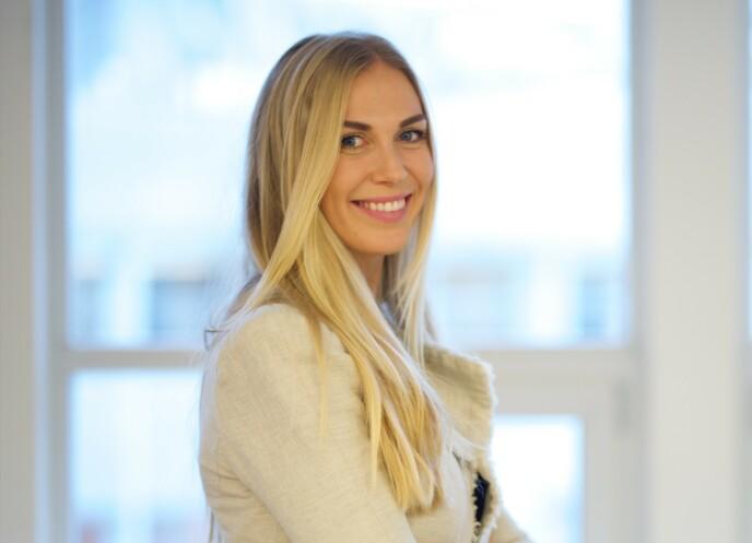 I DAG: Karoline Fagerheim Hansen spilte rollen som Marta i «Jul i Blåfjell» i 1999. I dag jobber hun innen finans. Foto: Dag Knudsen