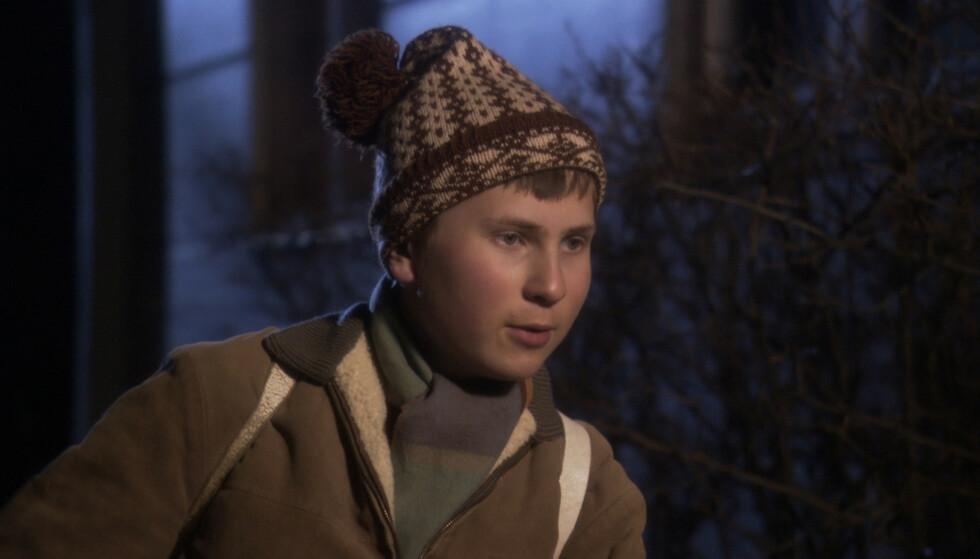 «DEN UNGE FLEKSNES»: Reidar Fredrik Frydenlund ble kjent som unge Marve Fleksnes i julekalenderen «Den unge Fleksnes» i 2010. Foto: NTB