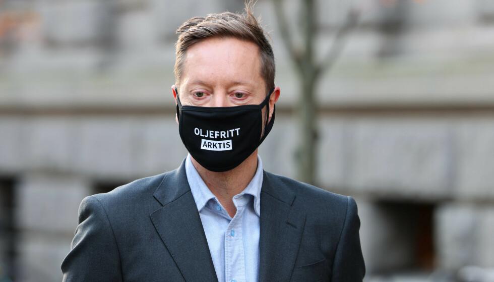 LEDER: Frode Pleym i Greenpeace Norge. Foto: Ørn E. Borgen / NTB