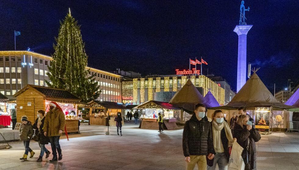 SMITTE: Coronaviruset herjer i Trondheim, og det kan gå mot ekstraordinært møte allerede 1. juledag. Foto: Gorm Kallestad / NTB