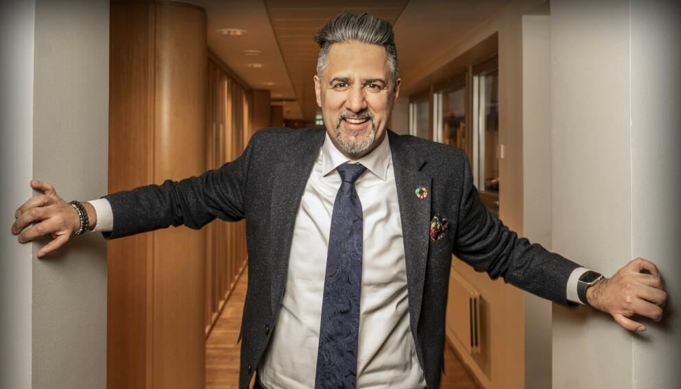 KULTURMINISTER I KRISETID: Abid Raja (V) fikk fem vanlige uker som kulturminister. Så kom coronaen. Foto: Hans Arne Vedlog / Dagbladet