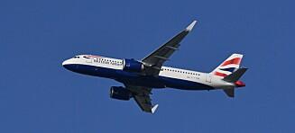 «Tatt på senga» av fly fra London