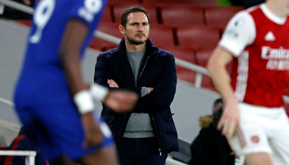 SINT: Frank Lampard på Emirates Stadium. Foto: NTB