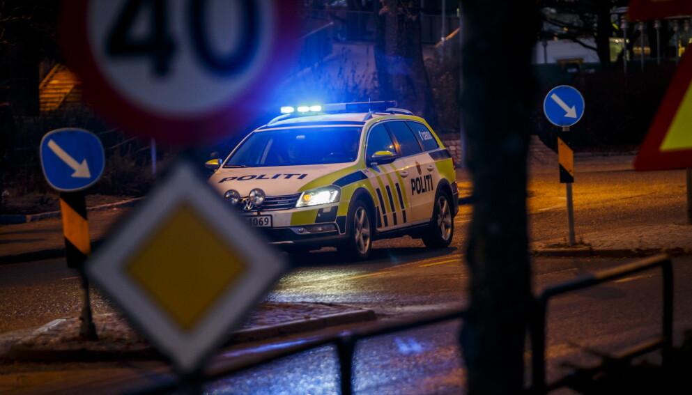 TRAVELT: Politiet over store deler av landet fikk det travelt natt til søndag med å håndtere slåssing og festbråk. Illustrasjonsfoto: Heiko Junge / NTB