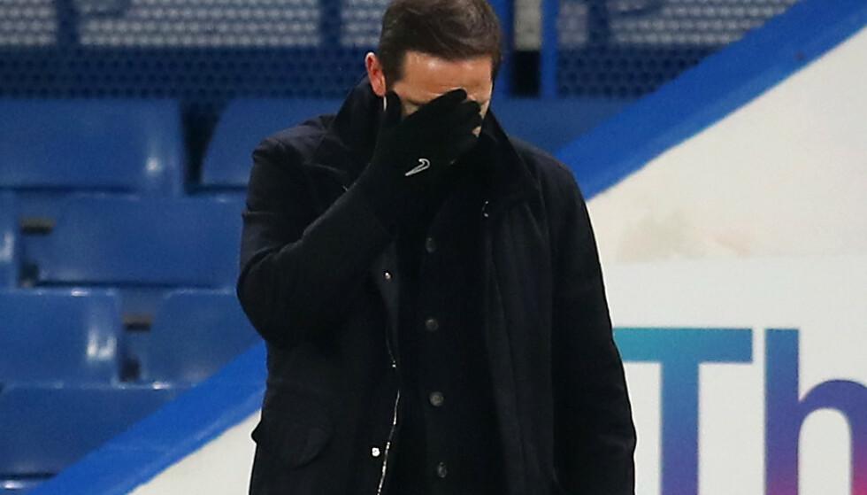 POENGTAP: Frank Lampard fortviler etter poengtap på hjemmebane. Foto: NTB