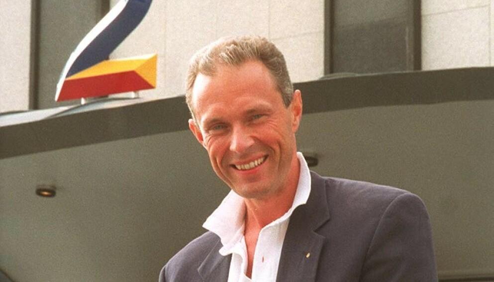 DØD: Tidligere TV 2-sjef Arne Anker-Jensen er død. Det skriver kanalen han tidligere var sjef for tirsdag kveld. Her fotografert i 1993. Foto: NTB