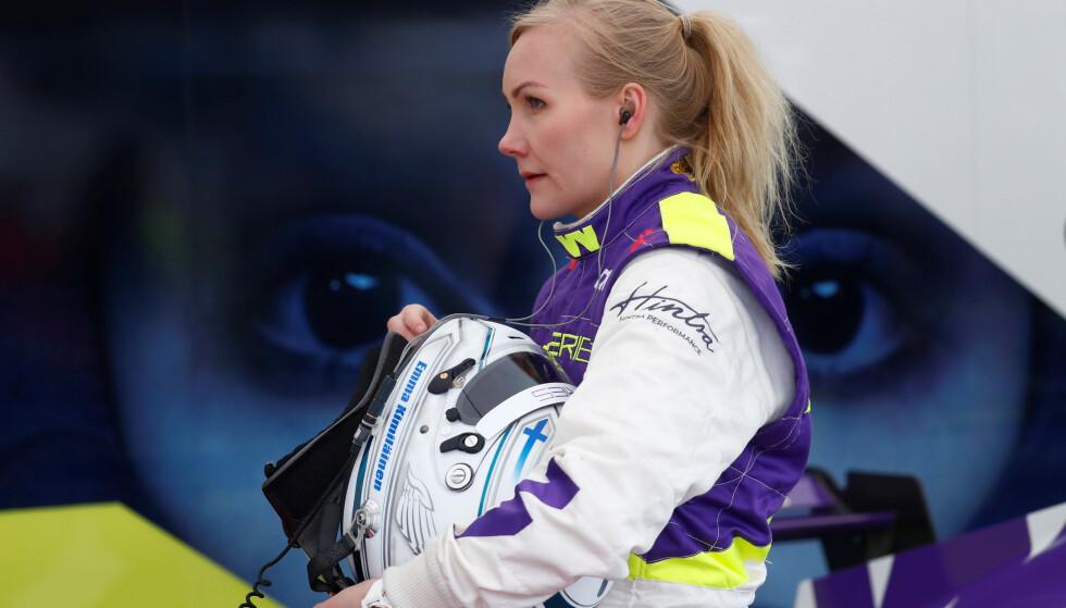 Motorsport - W Series - Hockenheim, Germany - May 4, 2019  Finland's Emma Kimilainen before the race  REUTERS/Kai Pfaffenbach