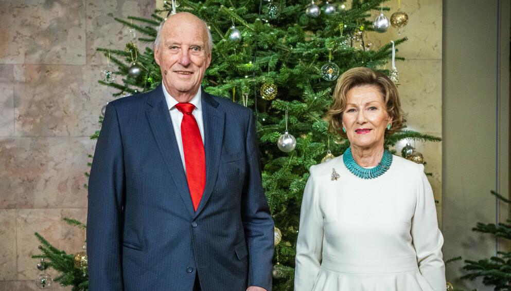 BESØK: Kong Harald og dronning Sonja besøker søndag Gjerdrum for å møte skredrammede. Foto: Håkon Mosvold Larsen / NTB