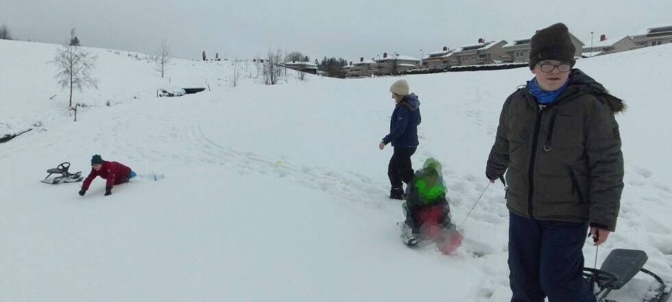Ungene lekte i snøen - bare timer seinere går skredet