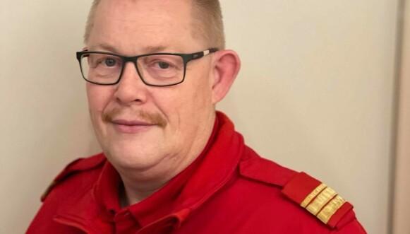 AVMAKT: Stein Teppen i Røde Kors Hjelpekorps følte på avmakten og redsel for nye skred. Foto: Røde Kors