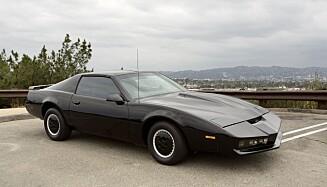 KITT: Bilen Kitt auksjoneres bort til over 8 millioner kroner. Foto: Julien's Auctions/REX Shutterstock/NTB.