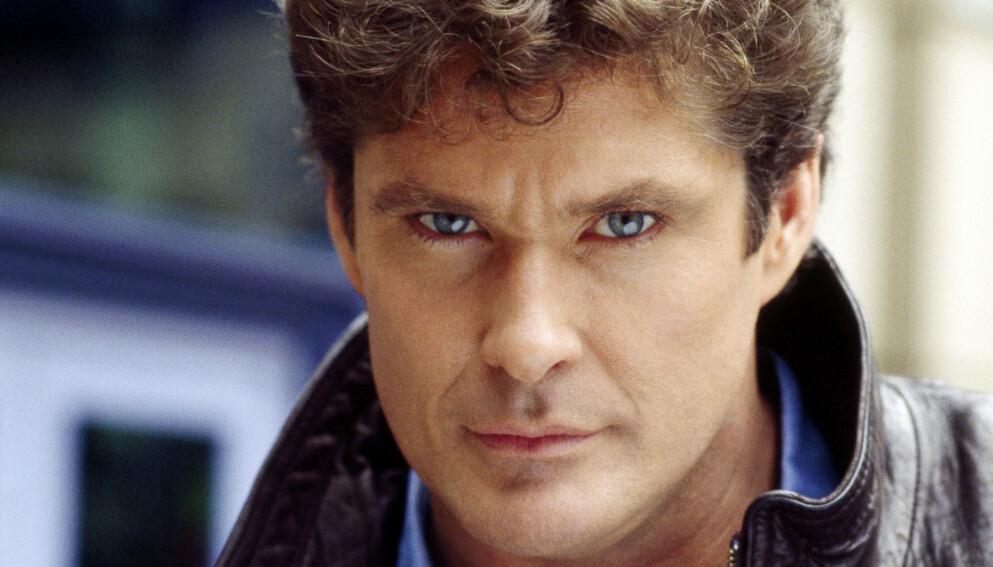SELGER «ALT»: David Hasselhoff auksjonerer bort flere ting fra sin tid på skjermen. Foto: Universal Tv/Kobal/REX/NTB