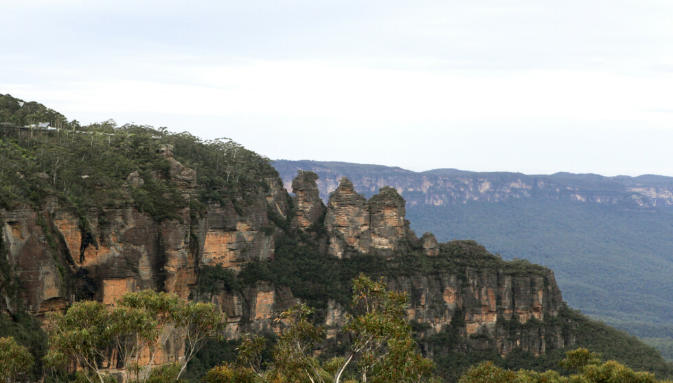 MISTET LIVET: Likene til de to kvinnene som ble meldt savnet lørdag ettermiddag, ble funnet omkommet under juvet i Blue Mountains vest for Sydney søndag. Foto: NTB