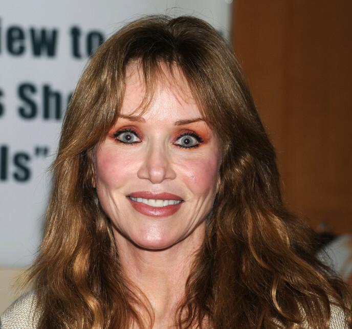 LA FILMKARRIEREN PÅ HYLLA: Tanya Roberts har ikke dukket opp som skuespiller siden 2005, men holdt seg fortsatt i rampelyset. Her i 2012. Foto: NTB