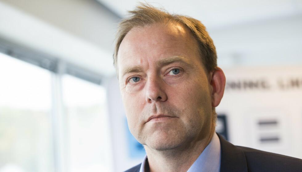 RASER: Daglig leder i Antidoping Norge, Anders Solheim, har fortsatt mange ubesvarte spørsmål etter at CAS halverte den russiske dopingutstengelsen til to år før jul. Foto: Håkon Mosvold Larsen / NTB