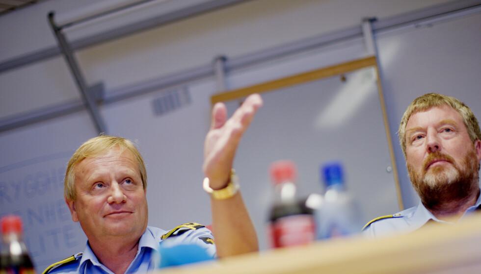 LEDER ETTERFORSKNING: Politiadvokat Bjørn Arne Tronier (t.v.). Her fra 2008. Foto: Stian Lysberg Solum / SCANPIX