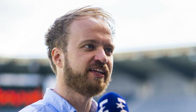 KRITISK: Kommentator i Eurosport, Petter Bø Tosterud, er kritisk til Brann sin mulige endring. Foto: Privat