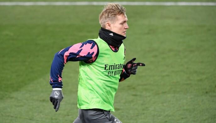 SLITER: Martin Ødegaard er tilbake etter skade, men sliter med å spille seg til fast plass på Real Madrid. Foto: NTB