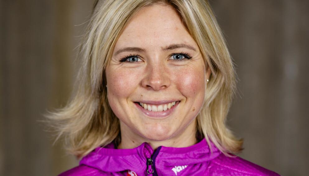 FORNØYD: Maren Lundby. Foto: Stian Lysberg Solum / NTB