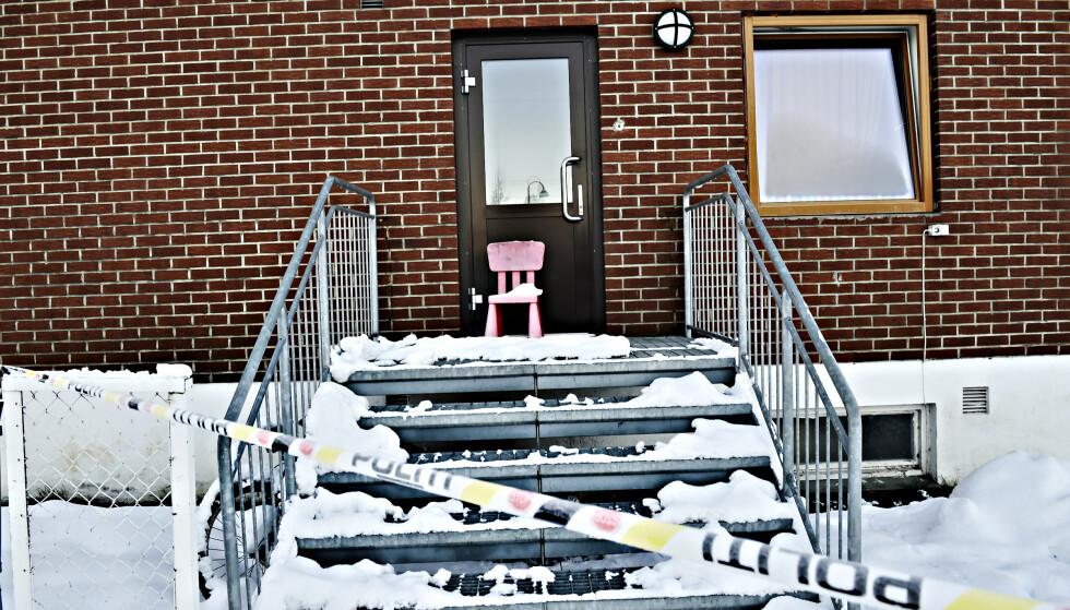 BLE EVAKUERT: Gjerdrum barneskole lå innenfor området som måtte evakueres i Ask sentrum etter leirraset 30. desember. Nå er evakueringen rundt skolen opphevet. Foto:Lars Eivind Bones / Dagbladet