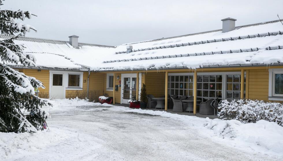 15 DØDE: Det alvorlige coronautbruddet på Fjell bo- og servicsenter i Drammen har resultert i 15 dødsfall. Foto: Terje Pedersen / NTB