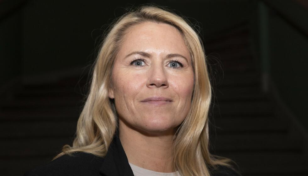 ØNSKER SVAR: Ordfører Monica Myrvold Berg i Drammen kommune ønsker å komme til bunns i hvordan utbruddet på Fjell kunne bli så alvorlig. Foto: Terje Bendiksby / NTB
