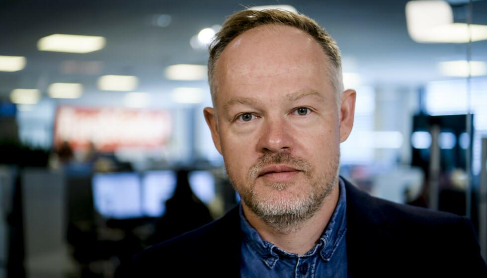 NY REKORD: Redaksjonssjef Bjørn Carlsen opplever rekordvekst på antall seere i Dagbladet TV. Foto: Lars Eivind Bones