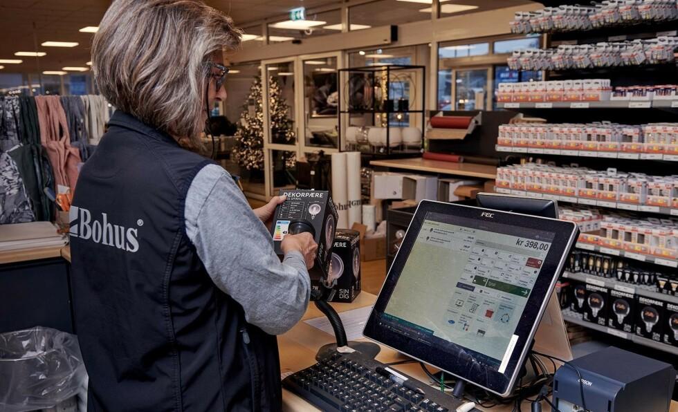 Løsningen gjør at 3 personer kan beskytte 1400 brukere på 60 butikker