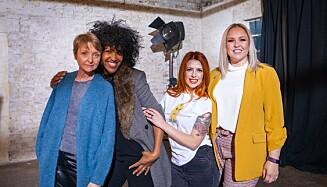 PORNOSKAPERE: Emma, Anita, Sarah og Sarah-Louise tar fatt på rollen som pornoregissører i «Mødre lager porno». Foto: Channel 4 / NRK.