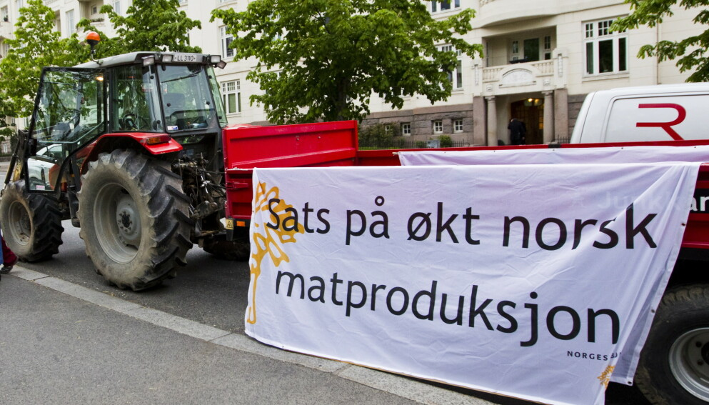 BERESKAP: Norge er et av de landene som produserer lavest andel av maten som spises. Det gjør oss sårbar når neste krise kommer, skriver innsenderne .Foto: Vegard Grøtt / NTB