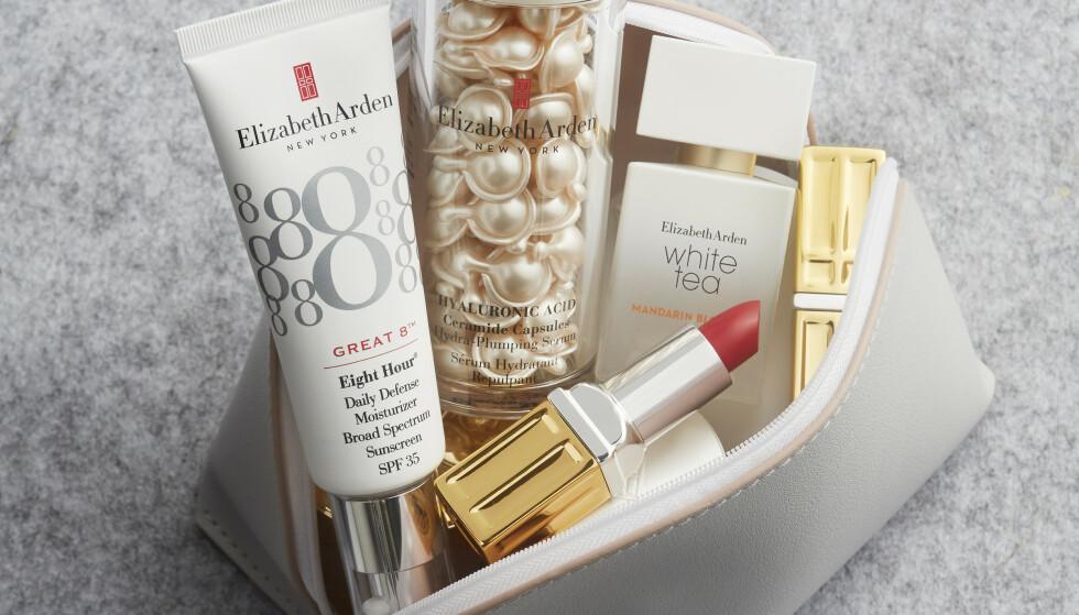 KLASSISK SKJØNNHET: Elizabeth Ardens filosofi var at alle kvinner hadde rett til å føle seg vakre. Start med en flott hud, og topp det hele med leppestift som fremhever leppene og en deilig parfyme.