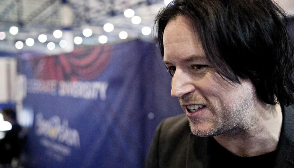 MGP-SJEFEN: Melodi Grand Prix-general Stig Karlsen i NRK. Foto: Bjørn Langsem