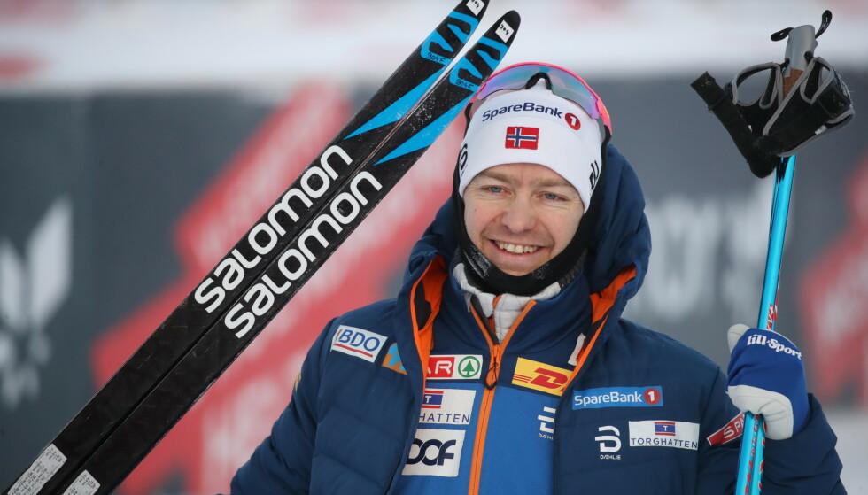 SEIRET: Sjur Røthe vant etter en sekundstrid. Foto: Bjørn Langsem / Dagbladet