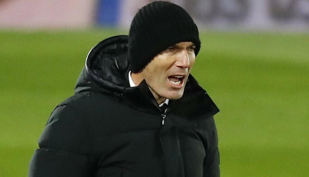 OPPGITT: Zinédine Zidane. Foto: NTB