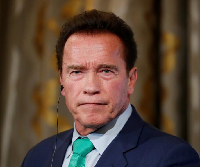 RASER MOT TRUMP: Arnold Schwarzenegger får mye oppmerksomhet for en video hvor han fordømmer Kongressen-angrepet. Foto: Gonzalo Fuentes/Reuters/NTB