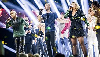 STOR SUKSESS: KEiiNO gjorde enorm suksess etter at de fikk flest publikumsstemmer i Eurovision. Nå vil de gå helt til topps, med en låt de liker bedre. Foto: Christian Roth Christensen / Dagbladet
