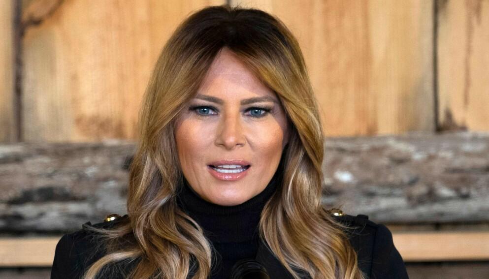 SNAKKER UT: Den avtroppende førstedamen Melania Trump uttaler seg for første gang om forrige ukes hendelser i USA. Foto: Reuters / NTB
