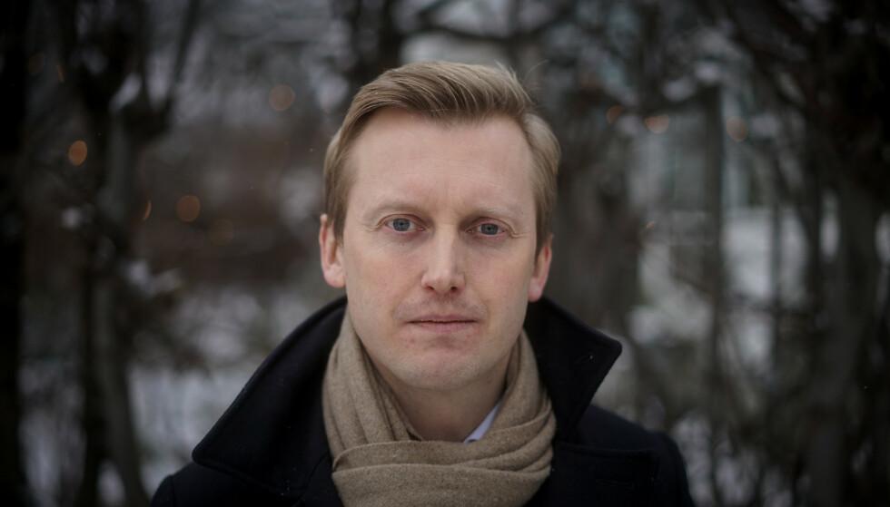 TREKKER SEG: Øystein Sundelin legger ned kampen mot mistillitserklæringa fra egne medlemmer. Nå er han ferdig som gruppeleder for Oslo Høyre. Foto: Øistein Monsen / Dagbladet