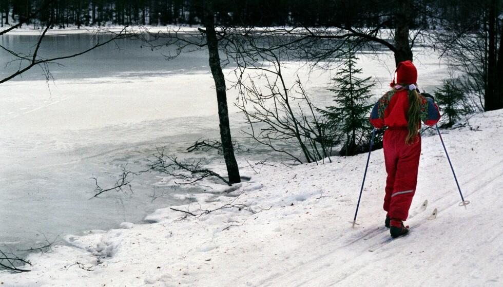 MARKA: Fint vær og gode skiforhold har lokket mange Oslo-borgere ut i skiløypene etter nyttår. Med stor trengsel er det viktig at folk utviser raushet, mener Skiforeningen. Illustrasjonsfoto: Berit Keilen / NTB