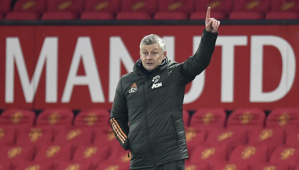 SER MOT TOPPEN: United trenger bare ett poeng i kveld for å innta en historisk tabelltopp. Foto: NTB