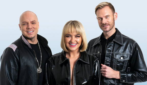 FINALEKLAR: Trioen Keiino har popjoik som varemerke. Foto: Peder Carlsen/NRK
