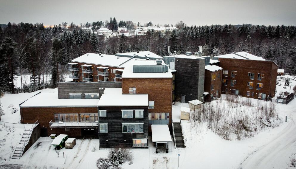 SMITTEUTBRUDD: Langhus Bo og behandlingsenter i Nordre Follo er rammet av et coronautbrudd . Foto: Bjørn Langsem / Dagbladet