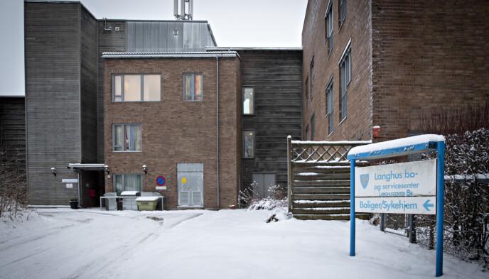 - ALVORLIG: Kommuneoverlegen omtaler smitteutbruddet ved Langhus bo- og servicesenter som alvorlig. Foto: Bjørn Langsem / Dagbladet