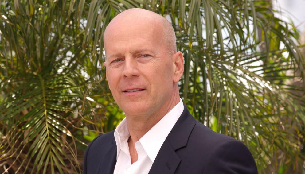 NEKTET: Skuespilleren Bruce Willis nektet å ta på seg munnbind under et apotekbesøk. Da ble han bedt om å dra. Foto: REX / David Fisher / NTB