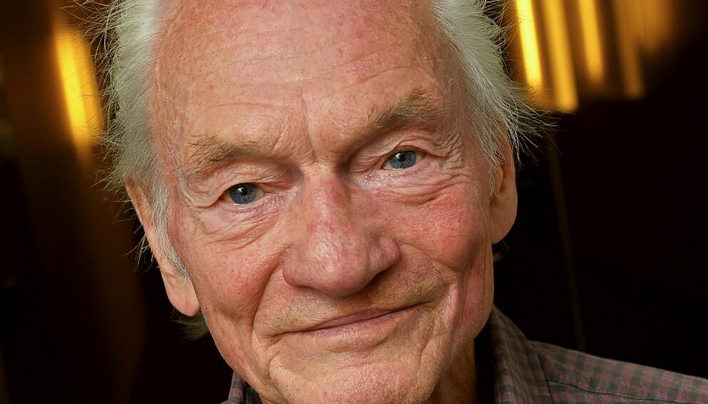DØD: Tord Peterson gikk bort mandag. Foto: Jonas Ekstrmer / TT / NTB