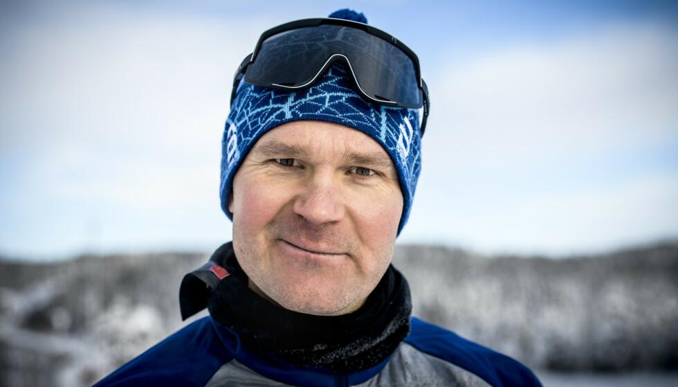 HAR DET GODT: Øystein «Pølsa» Pettersen sier at han står opp med et smil om munnen. Foto: Lars Eivind Bones / Dagbladet
