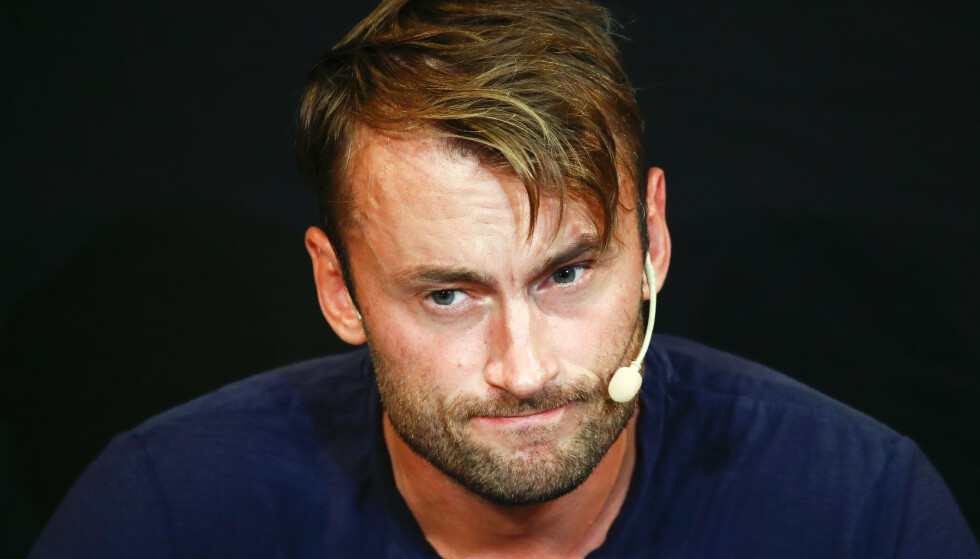 ANGER: Det var en angrende Petter Northug som møtte pressen tilbake i august. Foto: Terje Pedersen / NTB